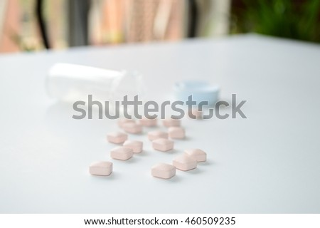 Poured medications