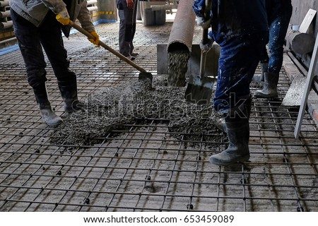 Concrete Pouring Stock Images Royalty Free Images