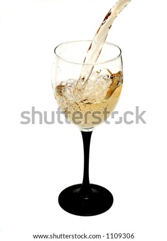 Pouring wine (White)