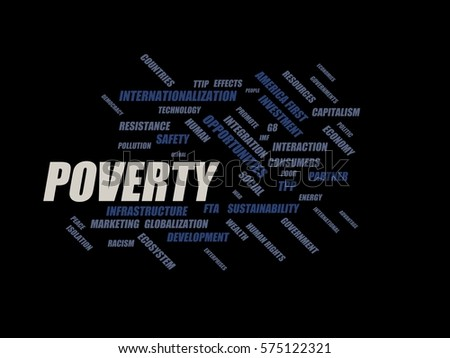 Use 'poverty' in a Sentence