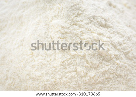 Powdered milk for baby background - stock photo