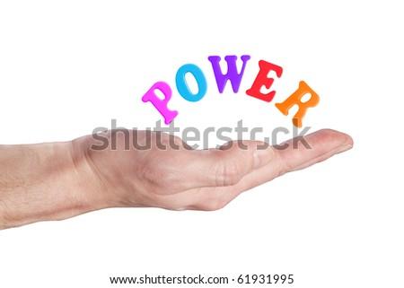 power 3 - stock photo