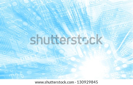 Power Control - stock photo