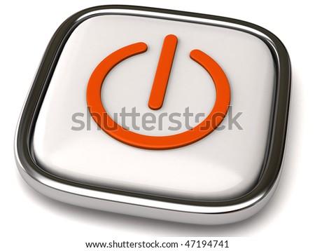 power icon - stock photo