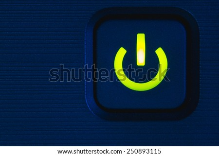 Power Light - stock photo