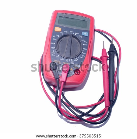 Power meter - stock photo