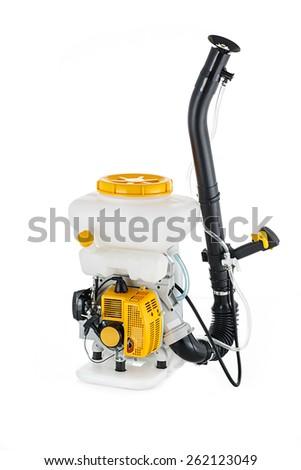 power mist dust sprayer - stock photo