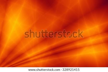 Power orange burst template illustration web background - stock photo