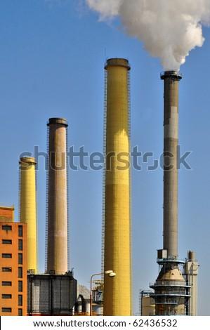Power plant in Tisova (Czech Republic), - stock photo