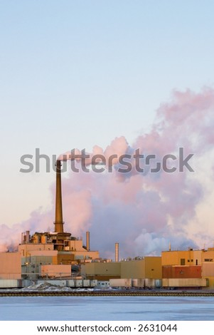 Power Plant Smoke