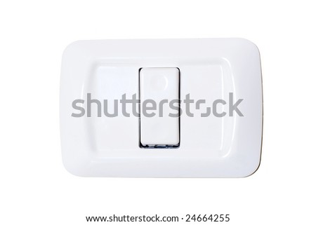 power switch on off - stock photo