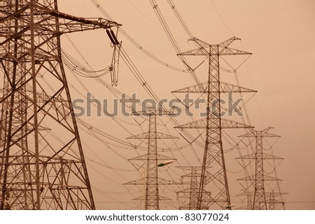 Power Tower - stock photo