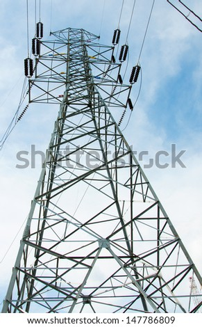 Power tower, station for making Electricity