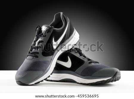 POZNAN, POLAND- July 28, 2016: NIKE VOMERO 8 men's running shoes