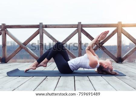 yoga tadasana stock images royaltyfree images  vectors