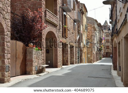 "Prades is the ""red town"" with ancient history and a lot of interesting monuments."