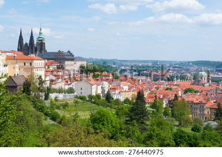 Prague Castle, Czech Republic - stock photo