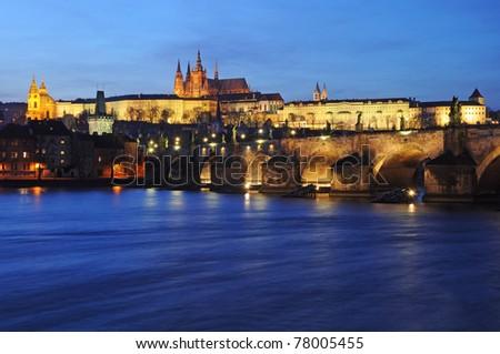 Prague castle, Czech republic - stock photo