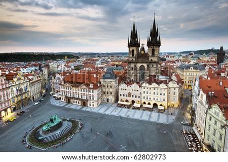 Prague, Czech Republic - stock photo