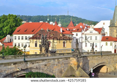 Prague, Czech Republic. Beautiful architecture of the Old Town