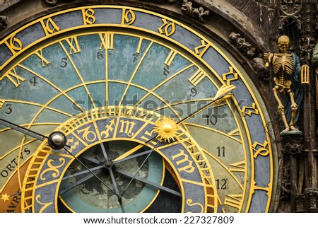 Prague Orloj Astronomical Clock tower