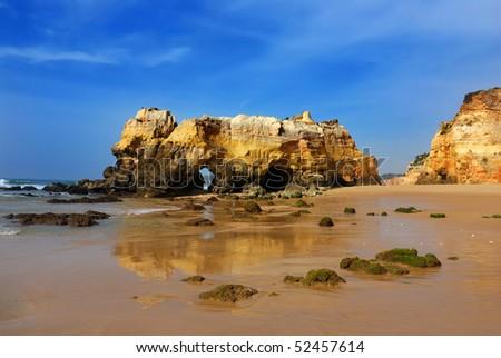 Praia da Rocha, Algarve - stock photo