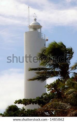 Praia do Forte Light House - Brasil - stock photo