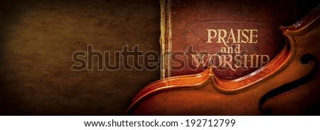 Praise and Worship - stock photo