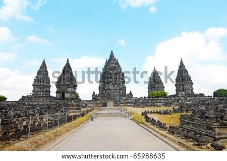 Prambanan Temple - stock photo