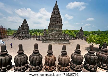 Prambanan Temple. Yogyakarta, Java, Indonesia. - stock photo