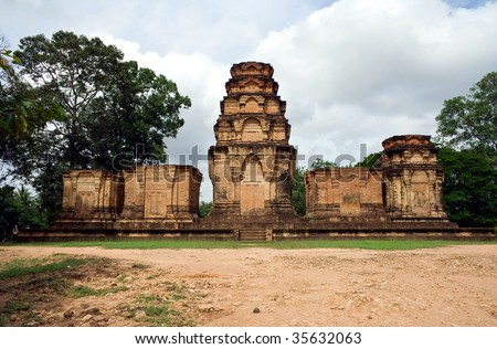 Prasat Kravan at angkor, Siem Reap - Cambodia - stock photo