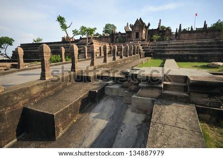 Prasat Preah Vihear - stock photo