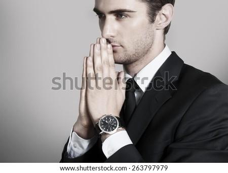 Pray, christian, christianity. - stock photo