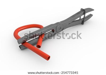 Precision Clamp - stock photo