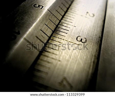 precision measurement tool - stock photo