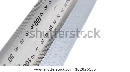 precision measurement tool made of steel, detail photo