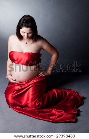 Pregnancy - stock photo
