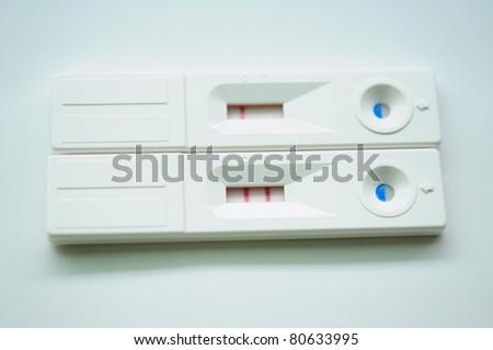Pregnancy test kit - stock photo