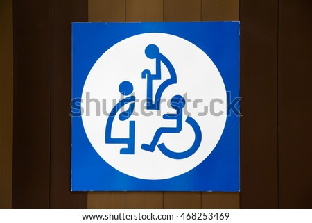 pregnant woman, disable person and old people sign