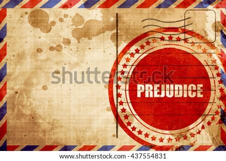 prejudice - stock photo