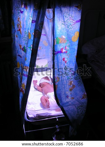 PREMATURE BABY - stock photo