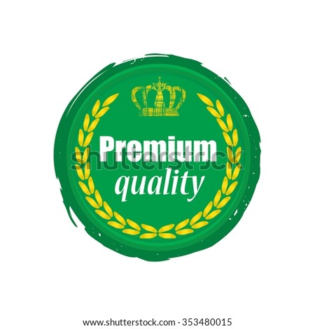 Premium quality  label.