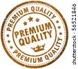 Premium quality stamp - stock