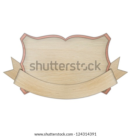 premium quality wooded label retro vintage design collection isolated on white background, vintage banner label frame, wood cut style collection.