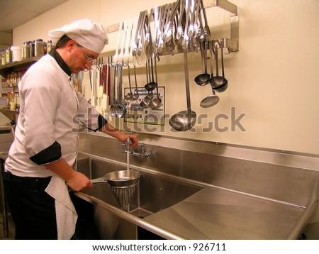Prep Cook - stock photo