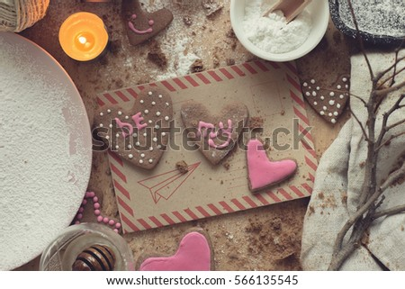 preparation for saint Valentine day
