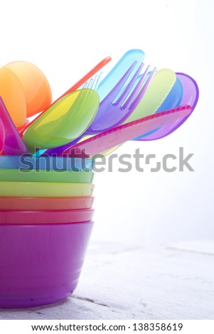 Preparation For The Summer Picnic Accessories  - stock photo