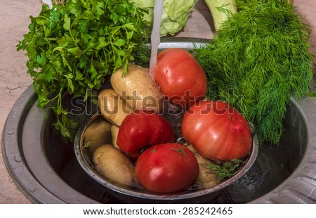 Preparation of a useful vegetarian dish