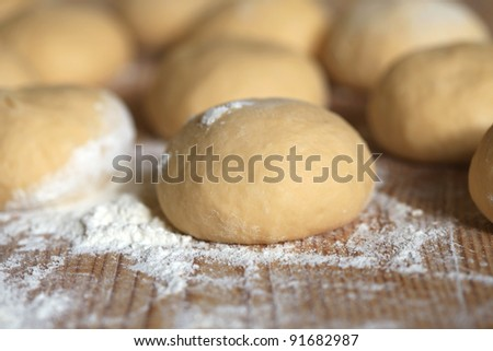Preparations in the kitchen for a nice meal - stock photo