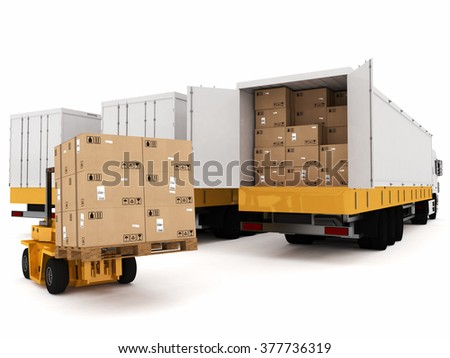 Prepare shipping - stock photo